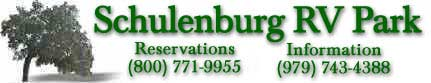Return to Schulenburg RV Park Home Page